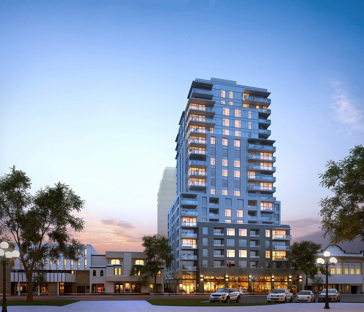 1101 - 848 Yates Street - Downtown Apartment/Condo for sale, 1 Bedroom (PRESALE)