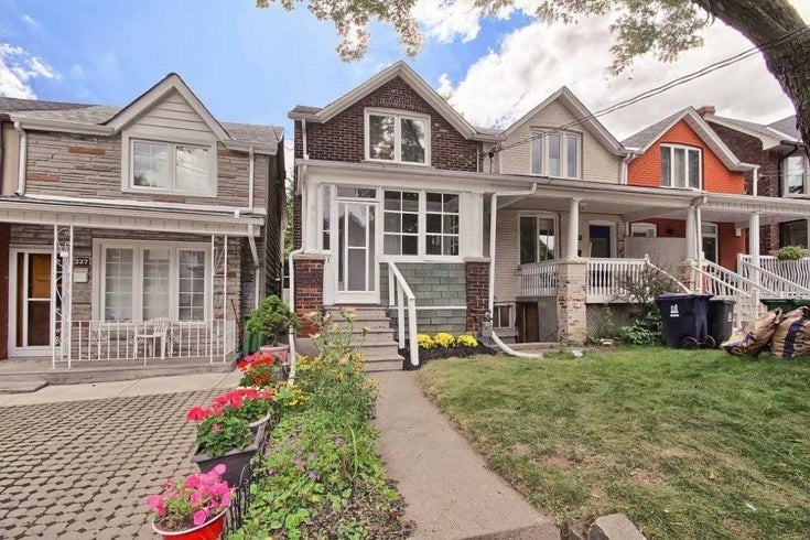 325 Salem Ave - Dovercourt-Wallace Emerson-Junction TWNHS for sale, 2 Bedrooms (W4874698)