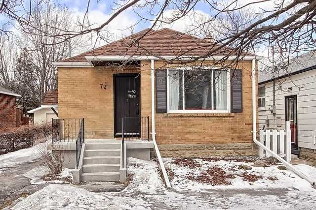 74 Elma St. - Mimico HOUSE for sale, 2 Bedrooms (W4368620)