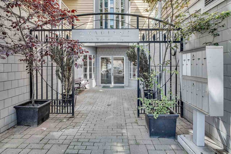 308-2929 West 4th Ave - Kitsilano Apartment/Condo for sale, 2 Bedrooms (R2477707)