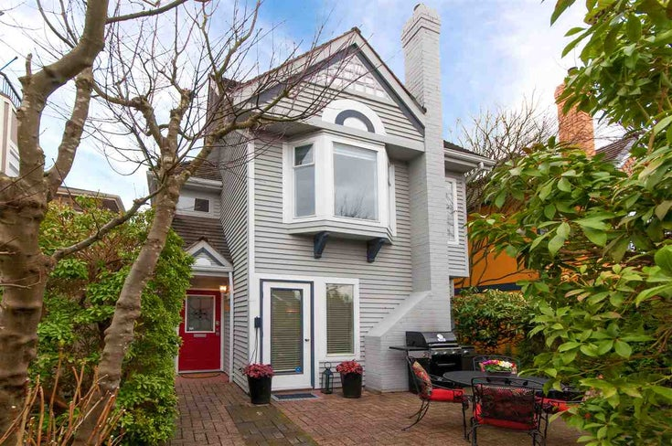 2058 West 14th Ave - Shaughnessy Townhouse for sale, 2 Bedrooms (R2412446)