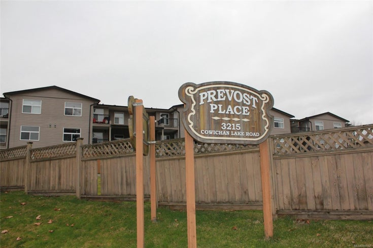104 3215 Cowichan Lake Rd - Du West Duncan Condo Apartment for sale, 2 Bedrooms (864151)