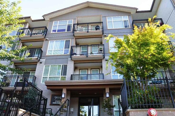 103 2343 Atkins Avenue - Central Pt Coquitlam Apartment/Condo for sale, 2 Bedrooms (R2197287)