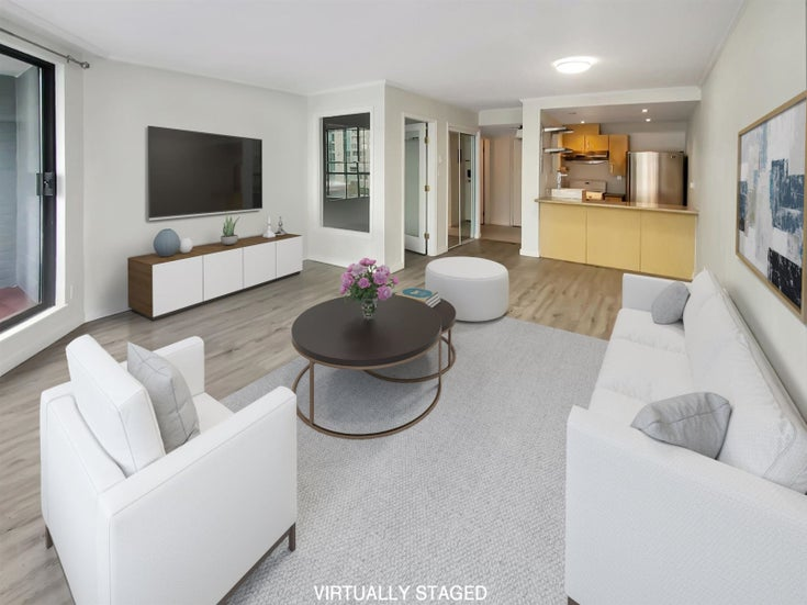 513 1270 ROBSON STREET - West End VW Apartment/Condo for sale, 1 Bedroom (R2559827)