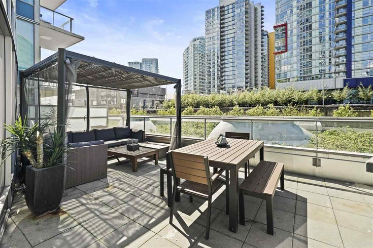 502 188 KEEFER PLACE - Downtown VW Apartment/Condo for sale, 2 Bedrooms (R2451428)