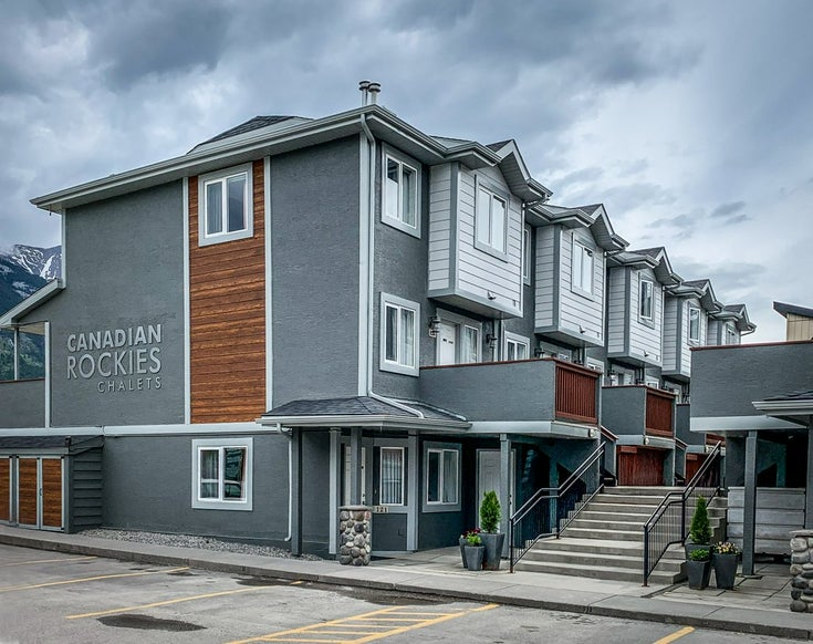 #124 1202 Bow Valley Trail - Canmore Recreational for sale, 2 Bedrooms (A1066203)