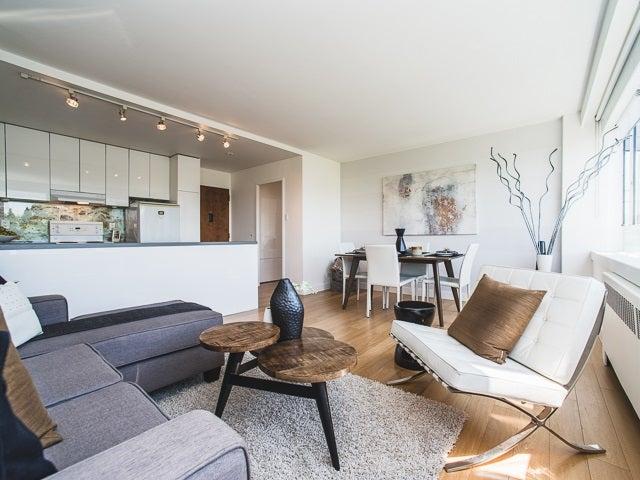 620 1445 Marpole Avenue - Fairview VW Apartment/Condo for sale, 1 Bedroom (R2186521)