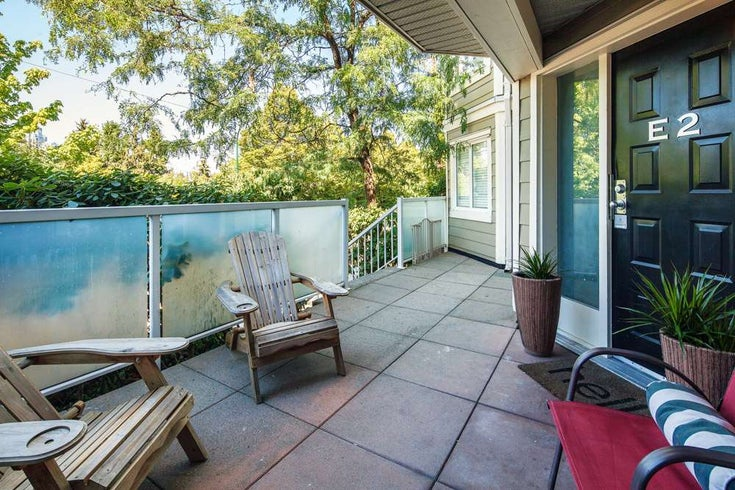 E2 1100 W 6th Avenue - Fairview VW Townhouse for sale, 1 Bedroom (R2189422)