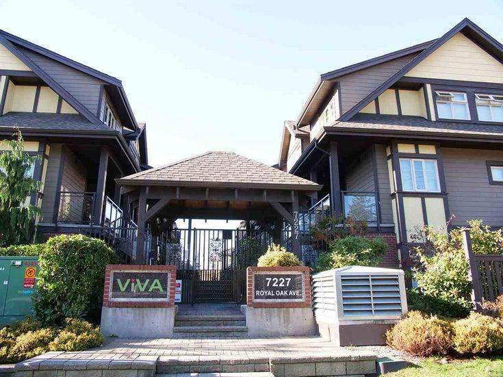 209 7227 Royal Oak Avenue - Metrotown Townhouse for sale, 2 Bedrooms (R2323769)