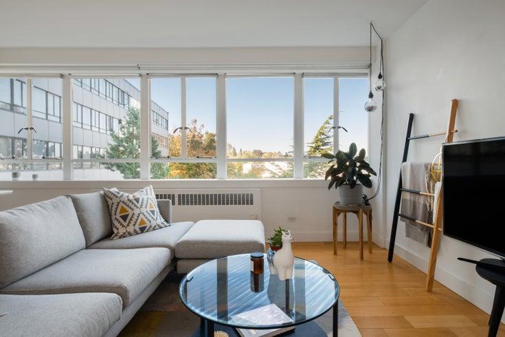 620 1445 MARPOLE AVENUE - Fairview VW Apartment/Condo for sale, 1 Bedroom (R2504428)