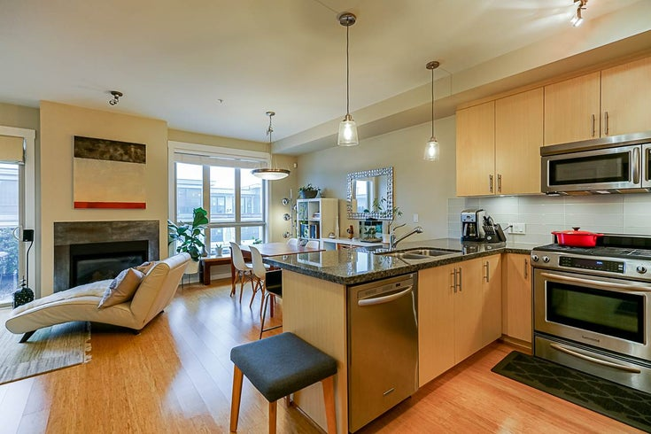 302 6077 LONDON ROAD - Steveston South Apartment/Condo for sale, 2 Bedrooms (R2434619)