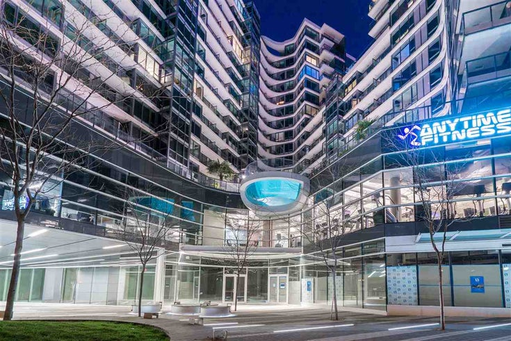 1802 68 SMITHE STREET - Downtown VW Apartment/Condo for sale, 1 Bedroom (R2365658)