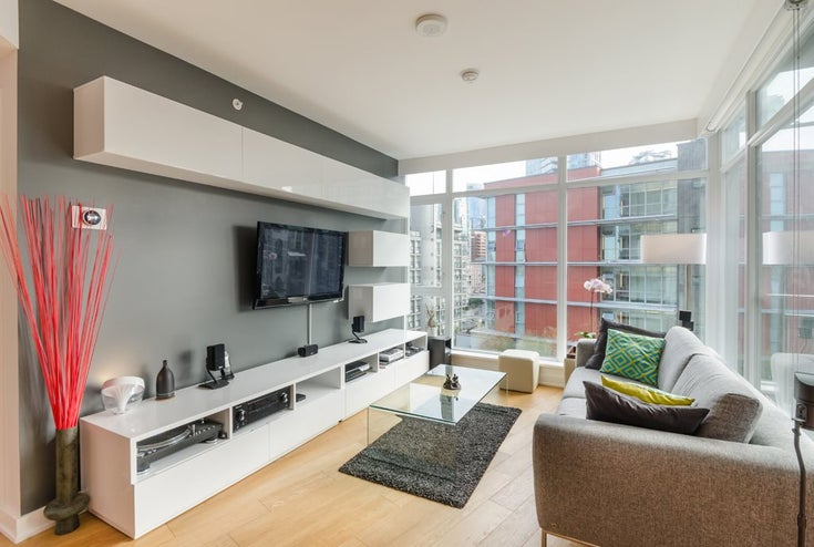 1205 1372 Seymour Street - Downtown VW Apartment/Condo for sale, 1 Bedroom (R2082760)