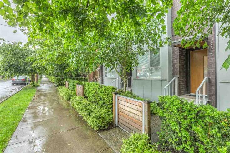 2172 W 8th Avenue - Kitsilano Townhouse for sale, 3 Bedrooms (R2176303)
