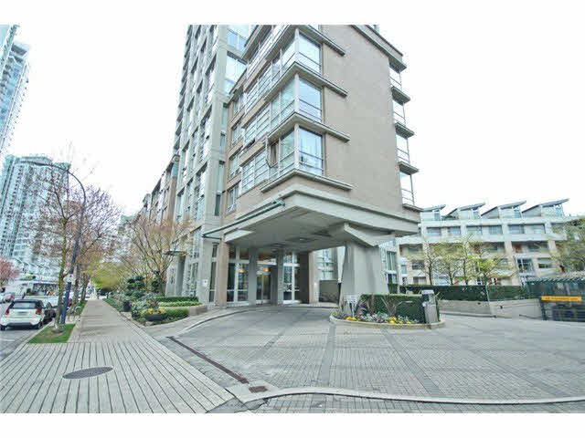 606 1228 Marinaside Crescent - Yaletown Apartment/Condo for sale, 1 Bedroom (V1000275)