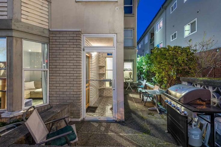 102 2355 W BROADWAY - Kitsilano Apartment/Condo for sale, 1 Bedroom (R2544192)