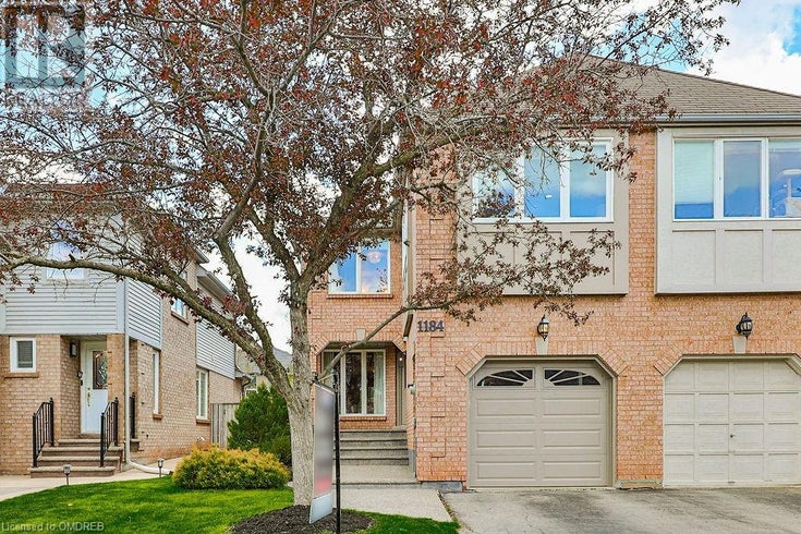 1184 LEEWOOD Drive - Oakville Row / Townhouse for sale, 3 Bedrooms (40111666)