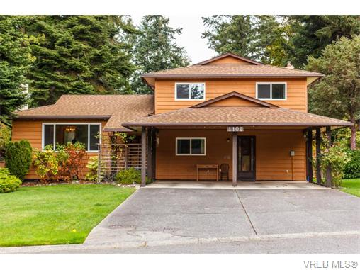 1106 Vic Pl - CS Brentwood Bay Single Family Detached for sale, 4 Bedrooms (370855)