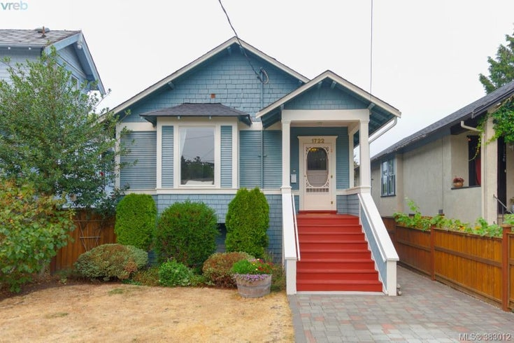 1722 Haultain St - Vi Jubilee Single Family Detached for sale, 2 Bedrooms (383012)