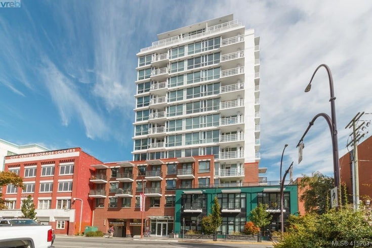 607 834 Johnson St - Vi Downtown Condo Apartment for sale, 1 Bedroom (415203)