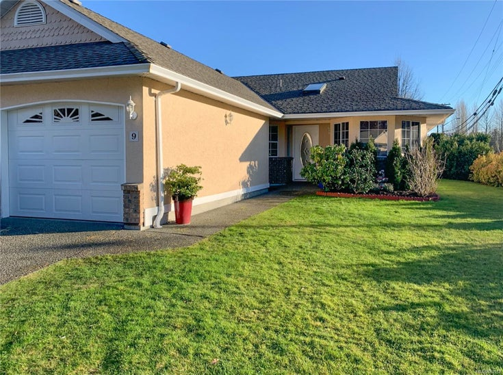 9 20 Anderton Ave - CV Courtenay City Row/Townhouse for sale, 2 Bedrooms (863511)