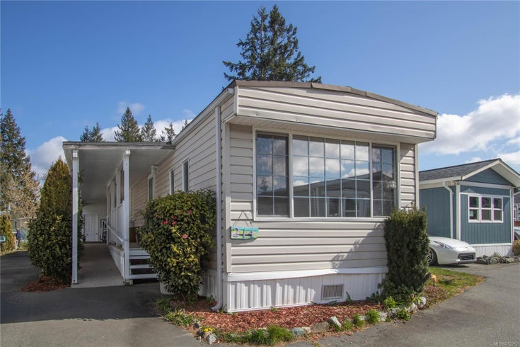 214 3120 Island Hwy - CR Campbell River Central Manufactured Home for sale, 2 Bedrooms (872212)