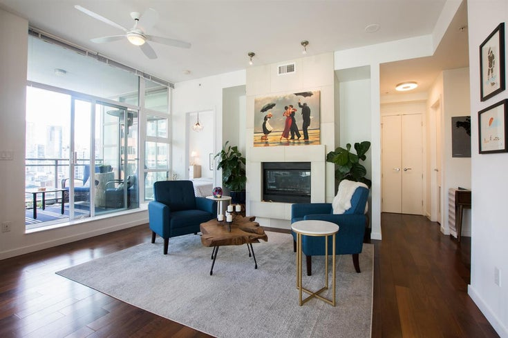 1401 1205 HOWE STREET - Downtown VW Apartment/Condo for sale, 2 Bedrooms (R2501462)