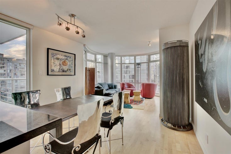 1205 1199 MARINASIDE CRESCENT - Yaletown Apartment/Condo for sale, 1 Bedroom (R2527445)