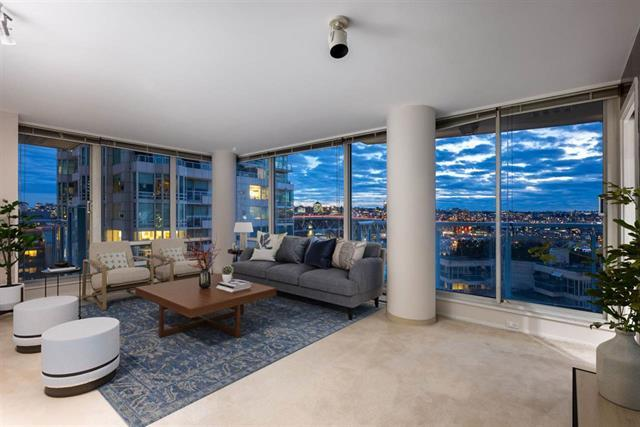 1406 1500 HORNBY STREET - Yaletown Apartment/Condo for sale, 2 Bedrooms (R2531865)
