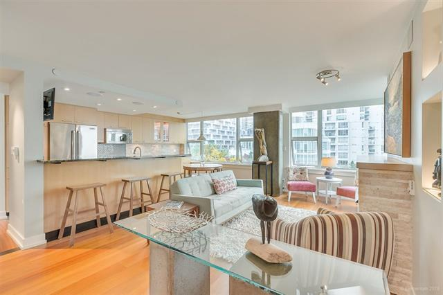 807 1500 HORNBY STREET - Yaletown Apartment/Condo for sale, 2 Bedrooms (R2539386)