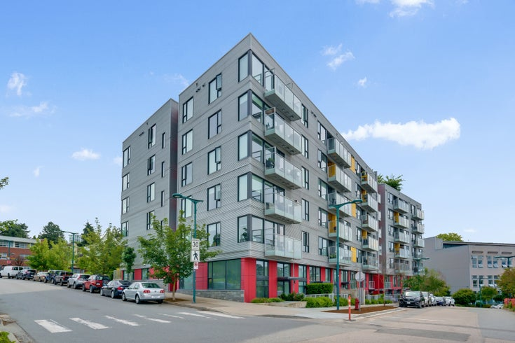 412-384 E 1st Ave, Vancouver  - Strathcona Apartment/Condo for sale, 1 Bedroom
