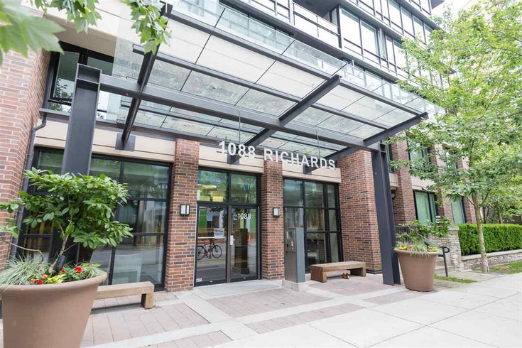 211 1088 Richards Street - Yaletown Apartment/Condo for sale, 1 Bedroom (R2191443)