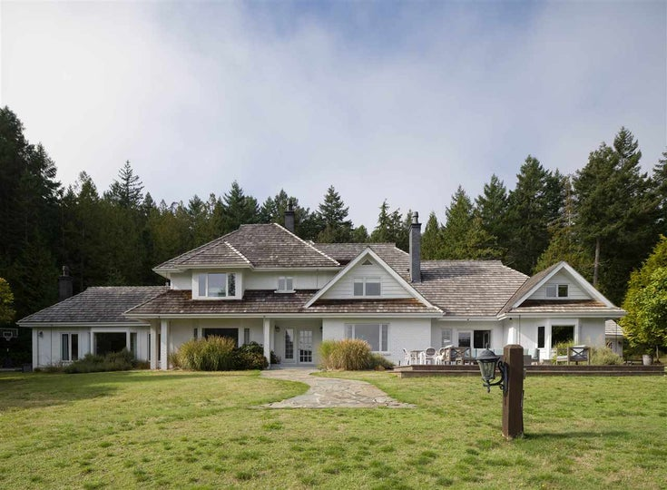 165 N WARBLER ROAD - Galiano Island House with Acreage for sale, 8 Bedrooms (R2509020)