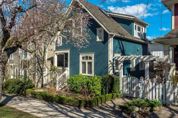 2150 Cypress Street - Kitsilano House/Single Family for sale, 2 Bedrooms (R2277414)
