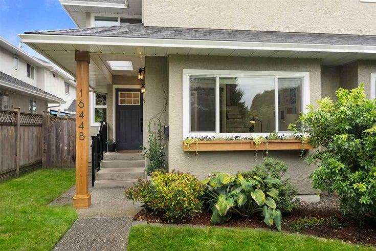 1644B MAHON AVENUE - Central Lonsdale 1/2 Duplex for sale, 3 Bedrooms (R2510669)