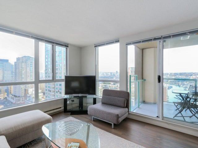 1503 907 BEACH AVENUE - Yaletown Apartment/Condo for sale, 1 Bedroom (R2035362) #2