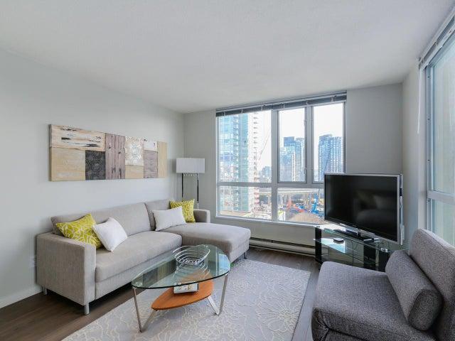 1503 907 BEACH AVENUE - Yaletown Apartment/Condo for sale, 1 Bedroom (R2035362) #3