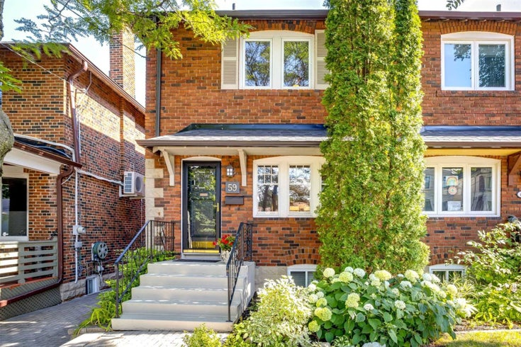 59 Glengarry Ave - Lawrence Park North Semi-Detached for sale, 3 Bedrooms (C4847830)