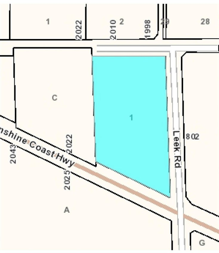 Lot 1 LEEK ROAD - Roberts Creek for sale(R2577827)