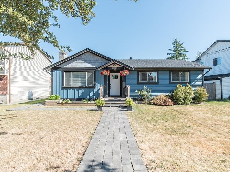 17813 59A AVENUE - Cloverdale BC House/Single Family for sale, 3 Bedrooms (R2603336)