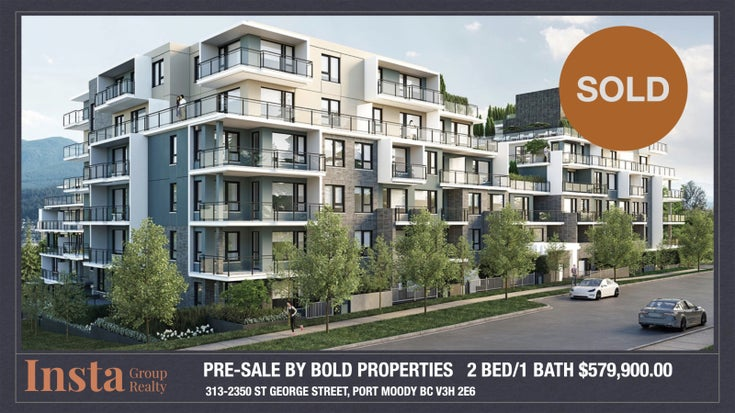2350 St George Street Port Moody BC  - Port Moody Centre Apartment/Condo for sale, 2 Bedrooms