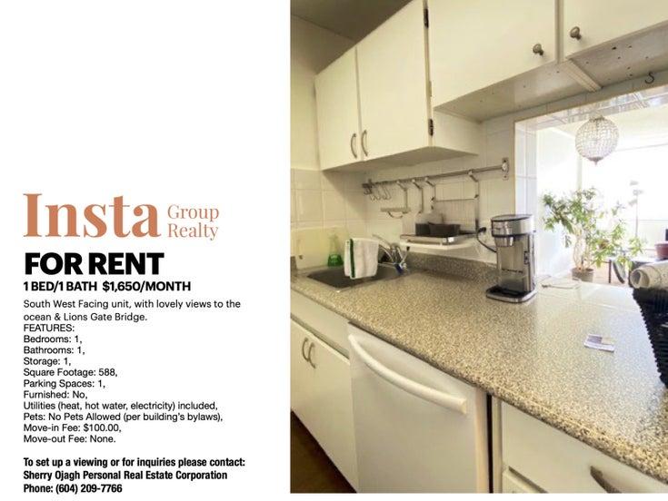 1101-2008 Fullerton Ave, North Vancouver  - Pemberton NV Apartment/Condo for sale, 1 Bedroom