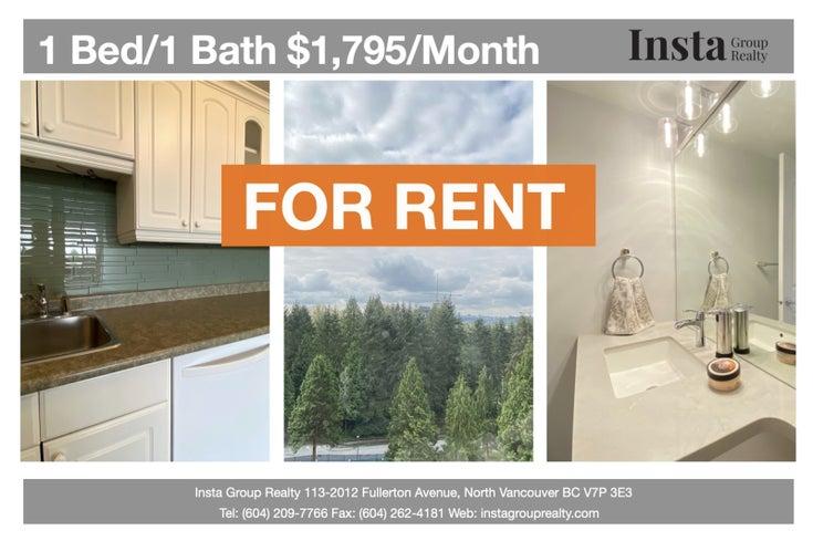 2012 Fullerton Avenue, Unit# 1008, North Vancouver  - Pemberton NV Apartment/Condo for sale, 1 Bedroom
