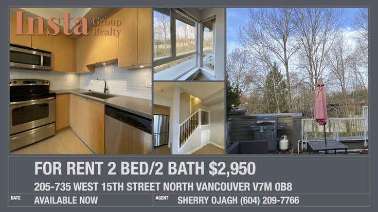 735  West 15th Street North Vancouver V7M 0B8 - Mosquito Creek Townhouse for sale, 2 Bedrooms