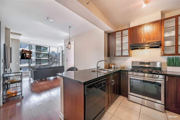 1201-170 W 1st Street, North Vancouver, BC B7M 3P2 - Lower Lonsdale Apartment/Condo for sale, 2 Bedrooms (R2603325)