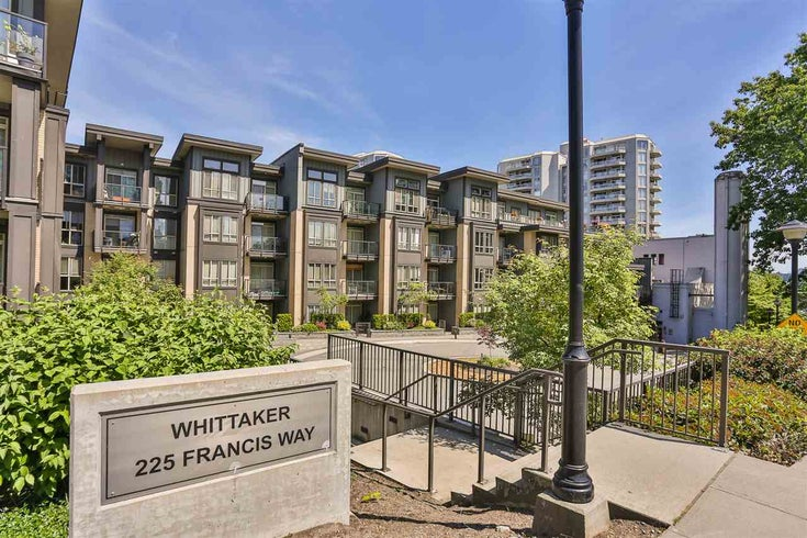 411 225 Francis Way - Fraserview NW Apartment/Condo for sale, 2 Bedrooms (R2133200)