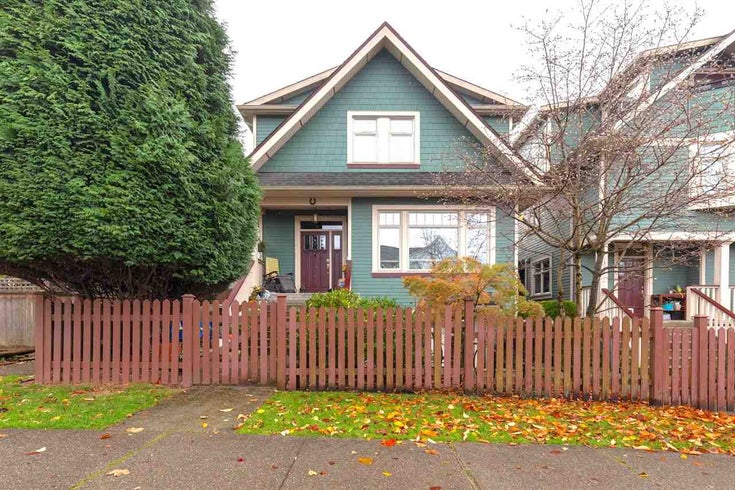 1526 Graveley St - Grandview Woodland Townhouse for sale, 2 Bedrooms (R2518305)