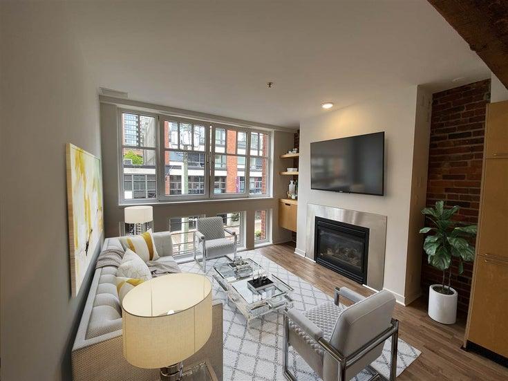 305 1072 HAMILTON STREET - Yaletown Apartment/Condo for sale, 1 Bedroom (R2449763)