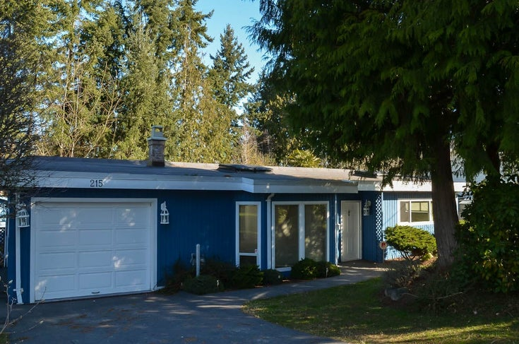 215 Thetis Ave, Qualicum Beach - PQ Qualicum Beach Single Family Detached for sale, 2 Bedrooms (467209)