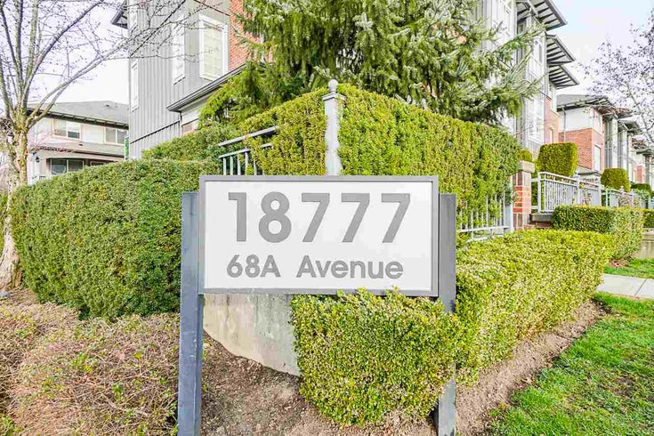 118 18777 68A AVENUE - Clayton Townhouse for sale, 2 Bedrooms (R2553179)